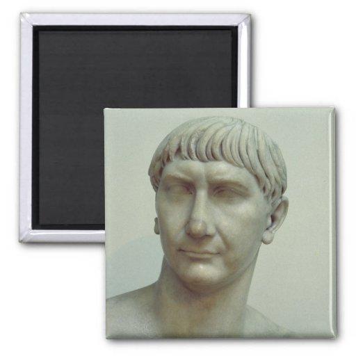 Retrato del emperador Trajan Imán Cuadrado