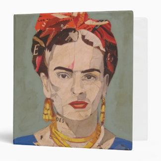 """Retrato del en Coyoacán de Frida Kahlo Carpeta 1 1/2"""""""