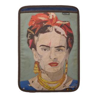 Retrato del en Coyoacán de Frida Kahlo Fundas Macbook Air