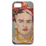 Retrato del en Coyoacán de Frida Kahlo iPhone 5 Carcasas