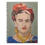 Retrato del en Coyoacán de Frida Kahlo Libros De Apuntes