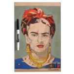 Retrato del en Coyoacán de Frida Kahlo Pizarras Blancas