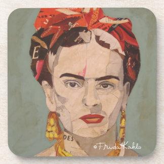 Retrato del en Coyoacán de Frida Kahlo Posavasos De Bebida