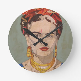 Retrato del en Coyoacán de Frida Kahlo Relojes De Pared