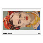 Retrato del en Coyoacán de Frida Kahlo Vinilo Adhesivo