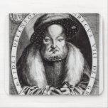 Retrato del Enrique VIII Alfombrillas De Raton