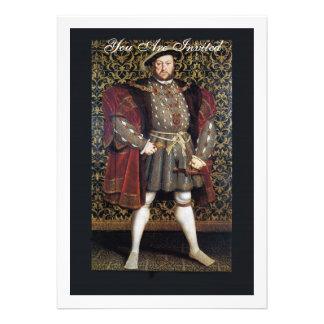 Retrato del Enrique VIII Comunicado Personal