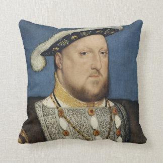 Retrato del Enrique VIII de Inglaterra de Hans Cojín