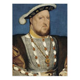 Retrato del Enrique VIII de Inglaterra de Hans Tarjeta Postal