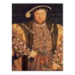 Retrato del Enrique VIII envejecido 49, 1540 Tarjetas Postales