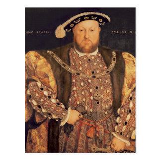 Retrato del Enrique VIII envejecido 49, 1540 Tarjeta Postal