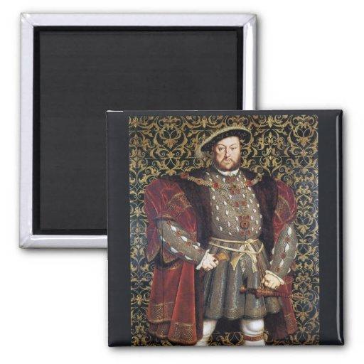Retrato del Enrique VIII Imanes