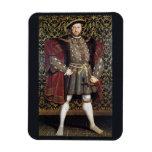 Retrato del Enrique VIII Imanes Flexibles