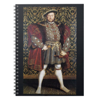 Retrato del Enrique VIII Libretas Espirales