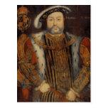 Retrato del Enrique VIII Postal