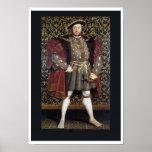 Retrato del Enrique VIII Posters