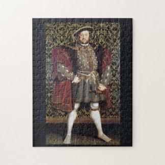 Retrato del Enrique VIII Puzzle Con Fotos