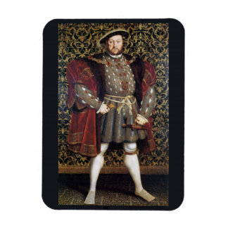 Retrato del Enrique VIII Rectangle Magnet