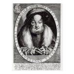 Retrato del Enrique VIII Tarjeta Postal
