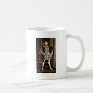 Retrato del Enrique VIII Taza Clásica