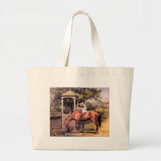 retrato del Equestrian 9c Bolsa