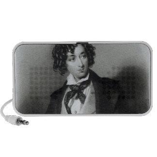 Retrato del escudero M.P. de Benjamin Disraeli Altavoces