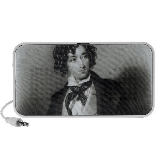Retrato del escudero M.P. de Benjamin Disraeli Laptop Altavoces