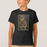 Retrato del espantapájaros de la linterna de camisas