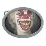 Retrato del espíritu necrófago de Halloween Hebilla Cinturon