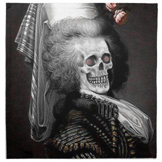 Retrato del espíritu necrófago de Halloween Servilleta De Papel