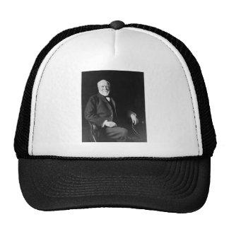 Retrato del filántropo Andrew Carnegie Gorros Bordados