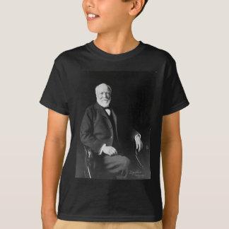 Retrato del filántropo Andrew Carnegie Polera