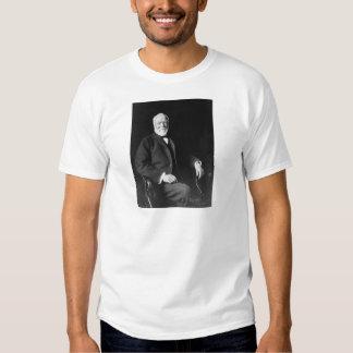 Retrato del filántropo Andrew Carnegie Remeras