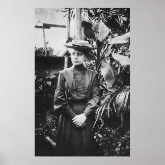 Retrato del físico austríaco Lise Meitner Póster