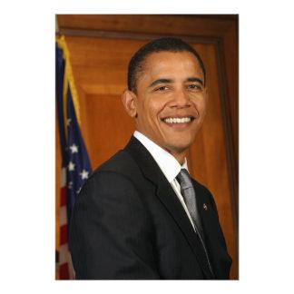 Retrato del funcionario de Barack Obama Cojinete