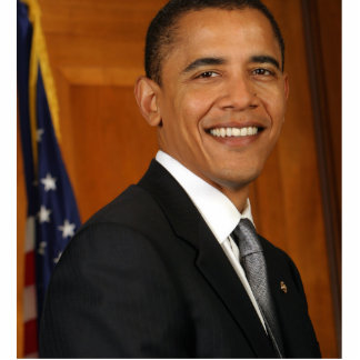 Retrato del funcionario de Barack Obama Esculturas Fotograficas