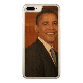 Retrato del funcionario de Barack Obama Funda Para iPhone 7