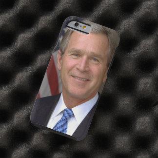 Retrato del funcionario de George W. Bush Funda Para iPhone 6 Tough
