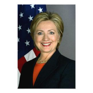 Retrato del funcionario de Hillary Clinton Fotografía
