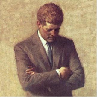 Retrato del funcionario de John F. Kennedy Escultura Fotográfica