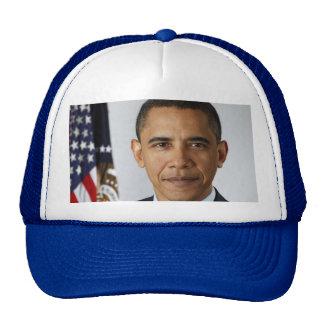 Retrato del funcionario de presidente Barack Obama Gorros