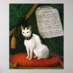 Retrato del gato Armellino Impresiones