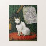 Retrato del gato Armellino Puzzles