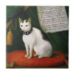 Retrato del gato Armellino Teja Ceramica