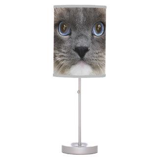 Retrato del gato de Ragdoll Lámpara De Mesa