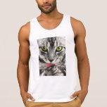 Retrato del gato tops