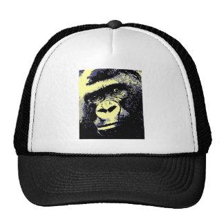 Retrato del gorila gorro