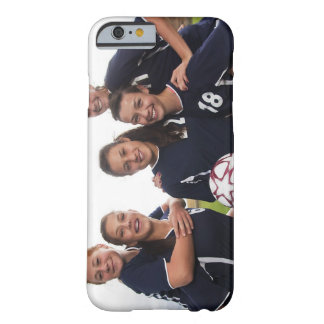 retrato del grupo de los jugadores de fútbol funda barely there iPhone 6