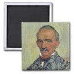 Retrato del guarda principal - Van Gogh Imán De Nevera