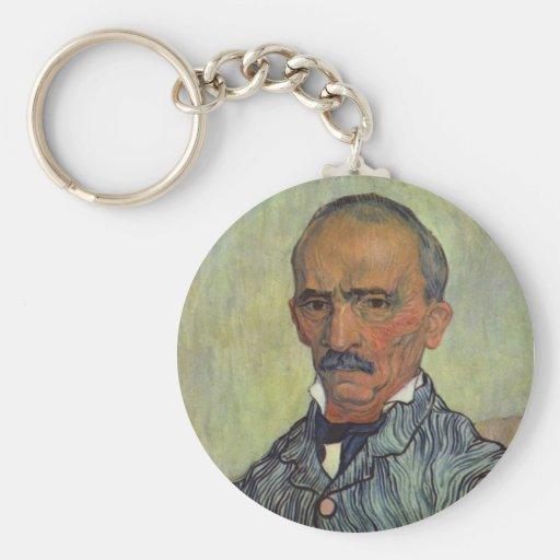 Retrato del guarda principal - Van Gogh Llavero Personalizado